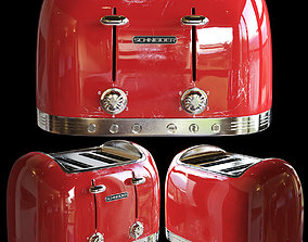red toaster 3D model