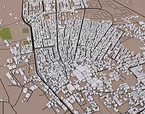 3D asset Gaza City of Palestine