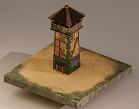 Archer Tower Level 1 3D asset