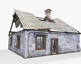 Old House 03 3D asset
