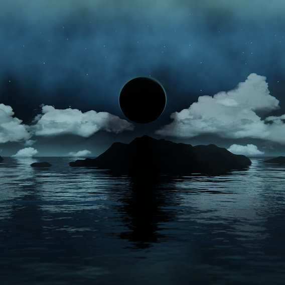 Black Moon Banner