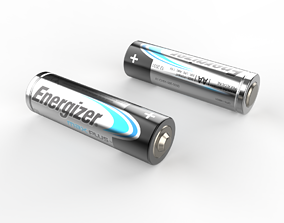 3D AA Battery Energizer Max Plus