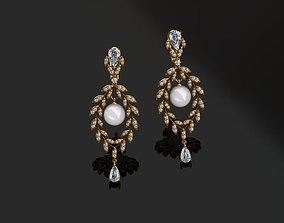 ruby Earrings 3D printable model