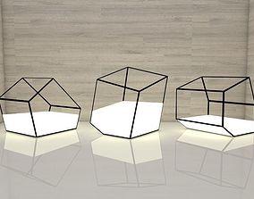 LED Lamps Cube 3D printable model