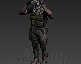soldier military-person 3D printable model