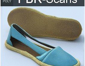 Shoe Low Poly 3D model realtime