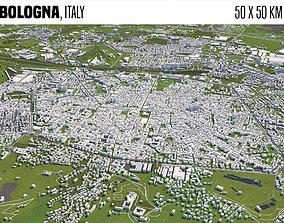 Bologna Italy 3D model