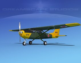Cessna T-41 Mescalero Turkish AF 3D model