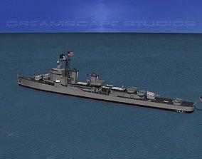 3D Gearing Class Destroyer DDR-832 USS Hanson
