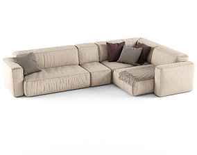 Koo International SOFT Sofa 3 3D model