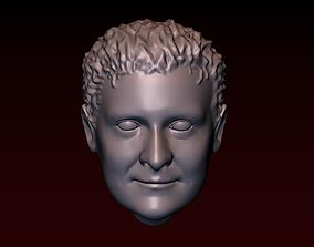 3D print model Male head 24 a man with a stylish haircut