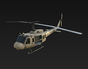 3D model Helicopter UH-1H