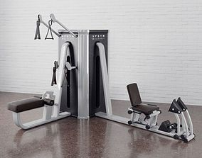 3D model Gym equipment 12 am169