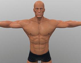 athlete 3D model