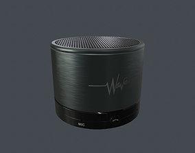Portable Wireless Bluetooth Audio 3D asset