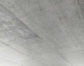 3D column Concrete ceiling