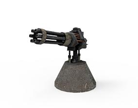 3D model Advanced Turrets
