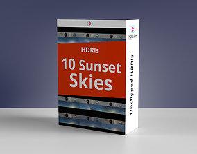 3D 10 Hdris Sunset Skies Bundle
