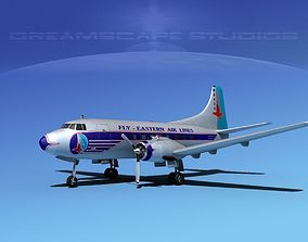 3D Martin 202 Eastern Airlines 1