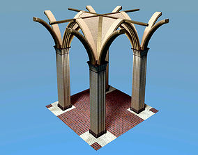 Early English Arch 3D