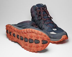 Womens The North Face Trekking Shoes 3d PBR