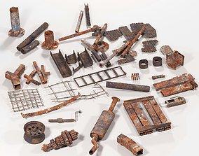 Metal dump 3D