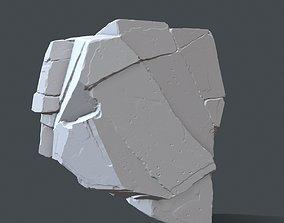 games-toys rock 5 3D print model