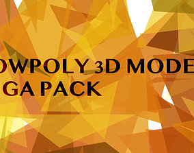 Lowpoly Giga Pack 3D model