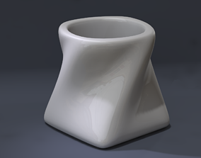 Twisted Espresso Cup 3D print model
