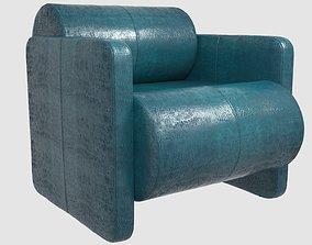 Esfera club chair by Kelly Wearstler 3D model