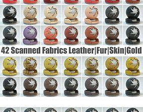 3D model 42 Fabric Materials PBR
