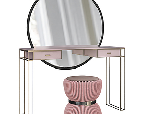 3D asset Dressing table La Perla presents design 1