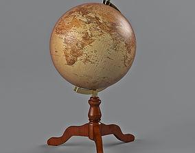 desktop globe 3D model