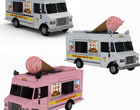 3D Ice Cream Truck Collection nyc