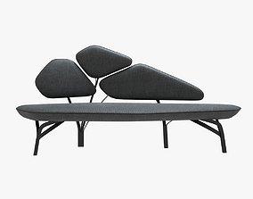 3D model Borghese - la chance light sofa