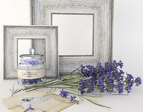 3D Lavender set furniture