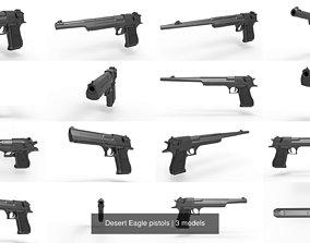 3D Desert Eagle pistols