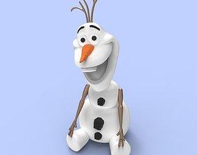 3D printable model snowman olaf