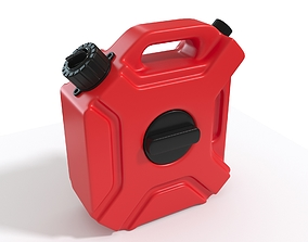 container 3D model Canister