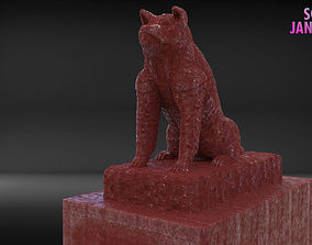 Hachiko Sculpture Timelapse and Model