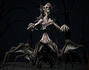 3D asset Undeath Centipede