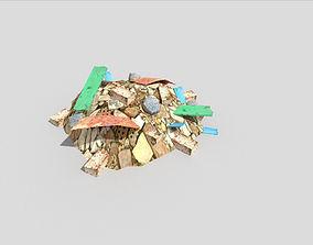 Debris Pile 3D model