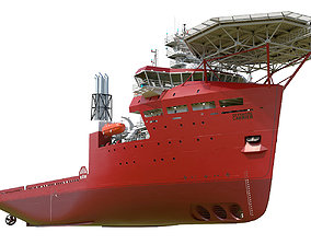 Offshore Carrier RED 3D
