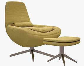 Metropolitan Chair BANDB ITALIA 3D model