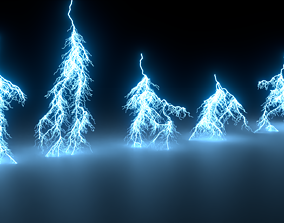 3D Lightning Asset Pack v2
