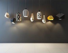 Ceiling light 3D asset