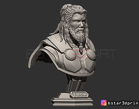Thor Long Beard Bust-Avenger -Infinity 3D print model 2