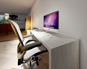 Office in lumion 10 3D