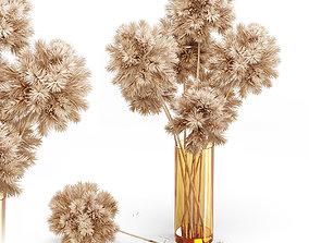 Decor set 10 Artificial onion grass flower 3D