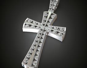 Cross cross jewelry 3D printable model